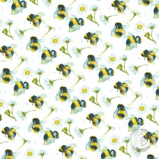 A Buzzing Summer Square Notebook - NBS203