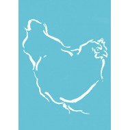 Spring Chicken - gift tag GT014