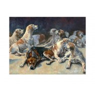 Limited Edition Print -Thurlow Hounds - PH06