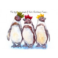 'The Boys Were Proud of Their Christmas Tums' Christmas Cards - XMS006