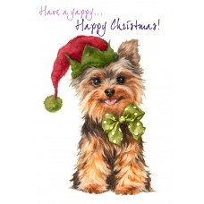 'Have a yappy..Happy Christmas - XMS015