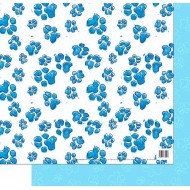 Blue Memories - gift wrap
